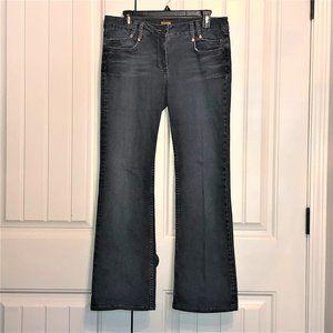 Anthropologie Louie boot cut dark wash jeans; 31